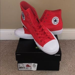 Converse Chuck Taylor High Top Red/white
